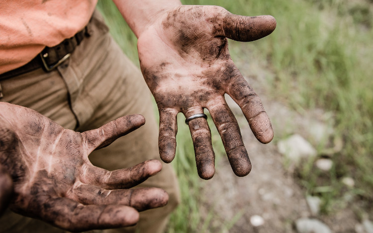 Doing the Work, dirty hands